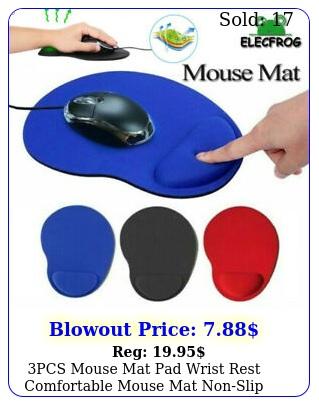 pcs mouse mat pad wrist rest comfortable mouse mat nonslip mice pad spong