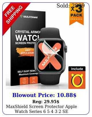 maxshield screen protector apple watch series   se mm iwatc
