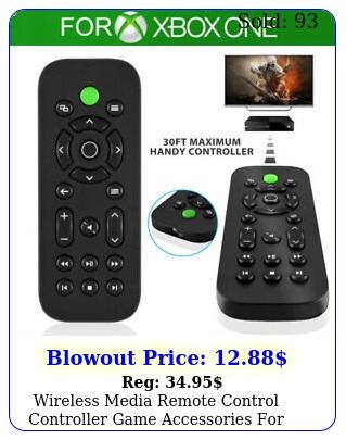 wireless media remote control controller game accessories xbox one consol