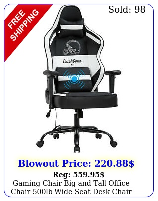 gaming chair big tall office chair lb wide seat desk chair with lumba