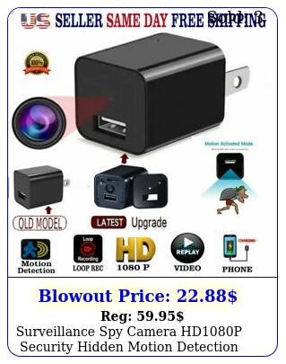 surveillance spy camera hdp security hidden motion detection dvr charge