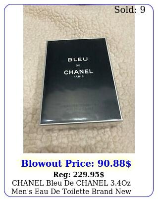 chanel bleu de chanel oz men's eau de toilette brand ne