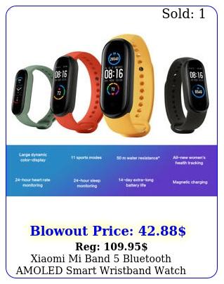 xiaomi mi band bluetooth amoled smart wristband watch heart rate sleep monito