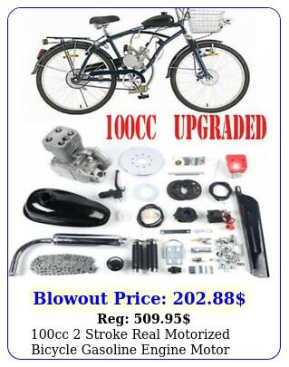 cc stroke real motorized bicycle gasoline engine motor complete full se