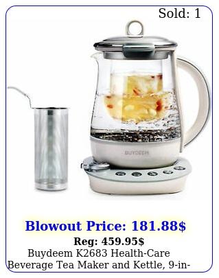buydeem k healthcare beverage tea maker kettle in programmabl