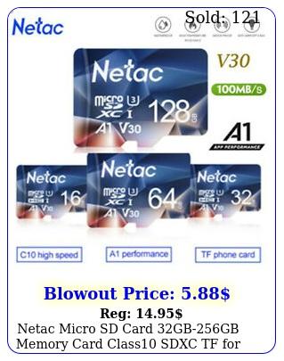 netac micro sd card gbgb memory card class sdxc tf phonecamera lo