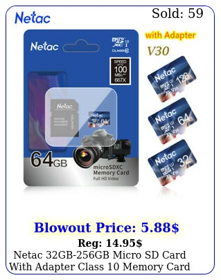 netac gbgb micro sd card with adapter class memory card tf card lo