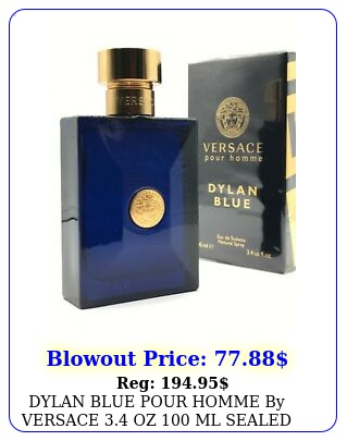 dylan blue pour homme by versace oz ml sealed in bo