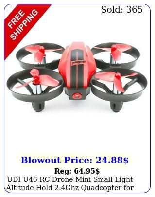 udi u rc drone mini small light altitude hold ghz quadcopter kids re