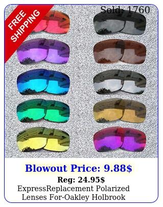 expressreplacement polarized lenses foroakley holbrook sunglasses o