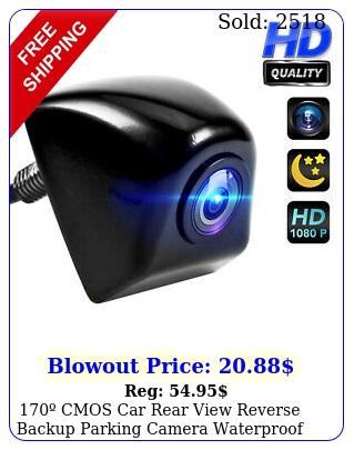 cmos car rear view reverse backup parking camera waterproof night vision h