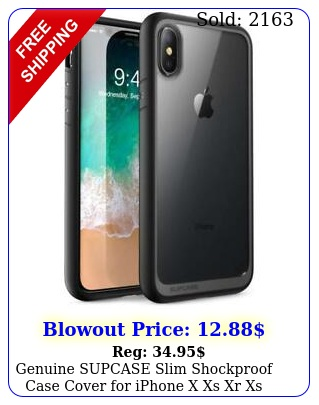 genuine supcase slim shockproof case cover iphone x xs xr xs max  plu