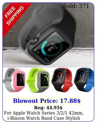 apple watch series mm iblason watch band case stylish sleek cove