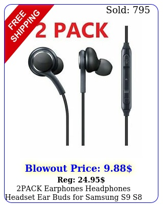 pack earphones headphones headset ear buds samsung s s note