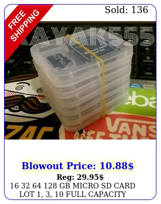 gb micro sd card lot   full capacity memory storage us