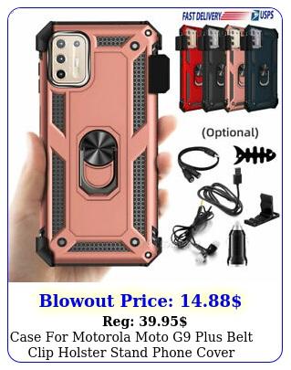 case motorola moto g plus belt clip holster stand phone cover  accessorie