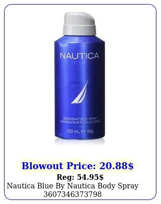 nautica blue by nautica body spra
