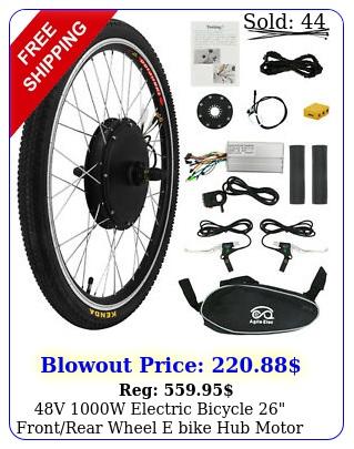 v w electric bicycle frontrear wheel e bike hub motor conversion ki