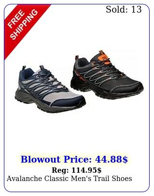 avalanche classic men's trail shoe