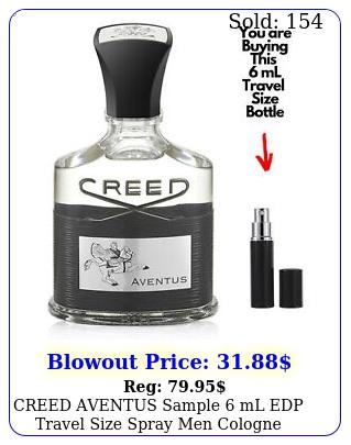 creed aventus sample ml edp travel size spray men cologne authentic perfum