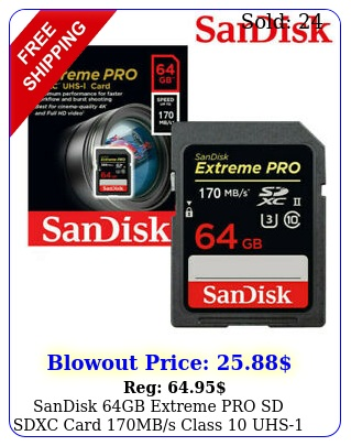 sandisk gb extreme pro sd sdxc card mbs class uhs u k memory v