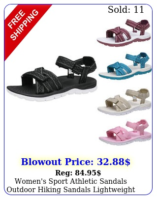women's sport athletic sandals outdoor hiking sandals lightweight shoes size u