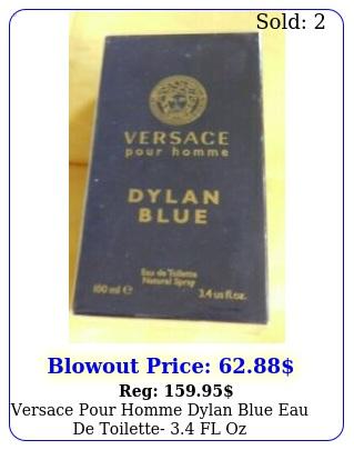 versace pour homme dylan blue eau de toilette fl o