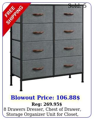 drawers dresser chest of drawer storage organizer unit closet bedroo