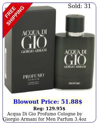 acqua di gio profumo cologne by giorgio armani men parfum oz i