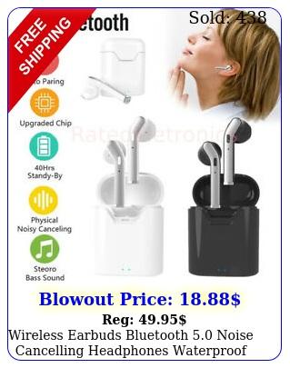 wireless earbuds bluetooth noise cancelling headphones waterproof headset u