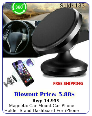 magnetic car mount car phone holder stand dashboard iphone samsung androi
