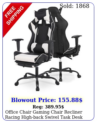 office chair gaming chair recliner racing highback swivel task desk chai