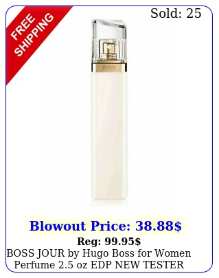 boss jour by hugo boss women perfume oz edp teste