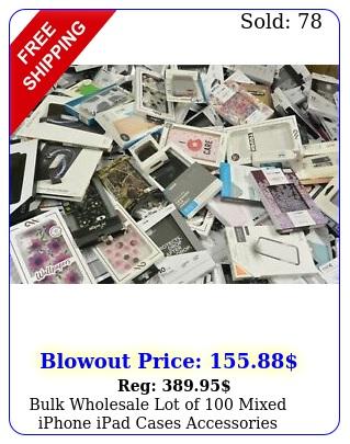 bulk wholesale lot of mixed iphone ipad cases accessories iphone xr ipad pr