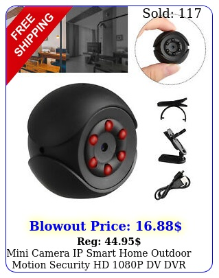 mini camera ip smart home outdoor motion security hd p dv dvr night visio