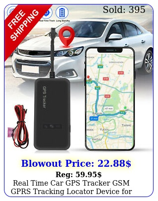 real time car gps tracker gsm gprs tracking locator device motorcycle bik
