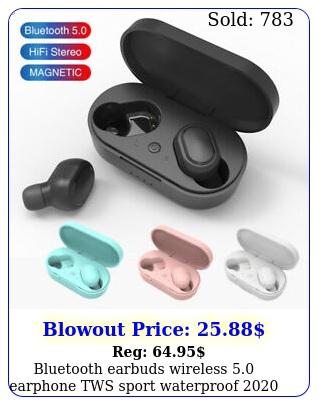 bluetooth earbuds wireless earphone tws sport waterproof headse