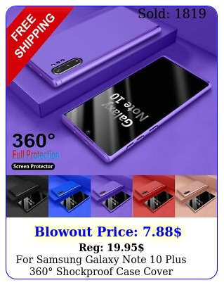 samsung galaxy note plus  shockproof case cover  tempered glas