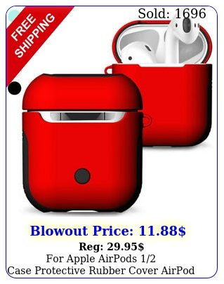 forapple airpods caseprotectiverubbercover airpod earphone charging cas