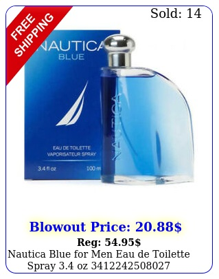nautica blue men eau de toilette spray o