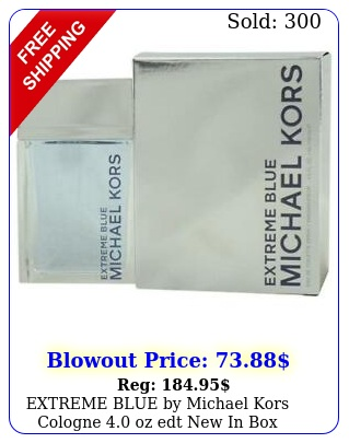extreme blue by michael kors cologne oz edt i