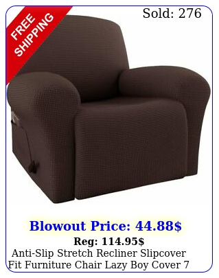 antislip stretch recliner slipcover fit furniture chair lazy boy cover color