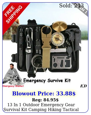 in outdoor emergency gear survival kit camping hiking tactical backpack u