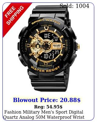 fashion military men's sport digital quartz analog m waterproof wrist watch u