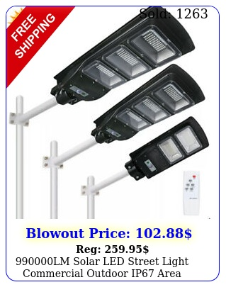 lm solar led street light commercial outdoor ip area security road lam
