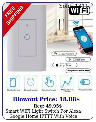 smart wifi light switch alexa google home ifttt with voice remote control u
