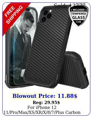 iphone promaxxsxrxplus carbon fiber hard case tempered glas