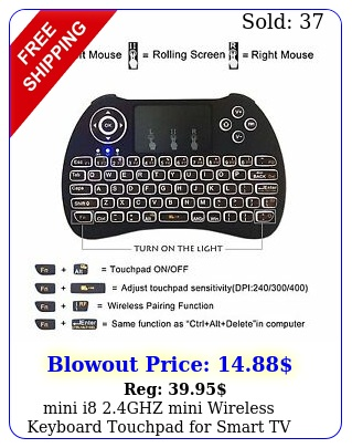mini i ghz mini wireless keyboard touchpad smart tv android pc htp
