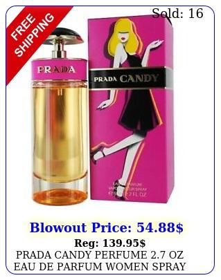 prada candy perfume oz eau de parfum women spray bran