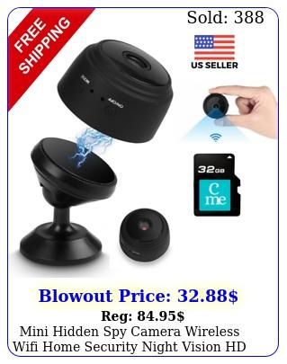 mini hidden spy camera wireless wifi home security night vision hd p  g